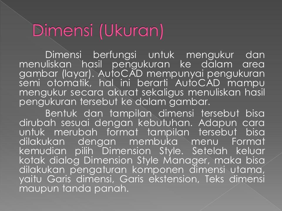 Dimensi (Ukuran)
