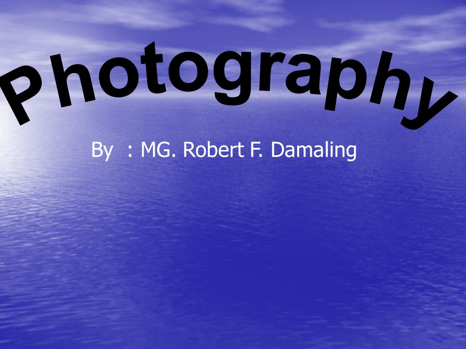 Photography By : MG. Robert F. Damaling