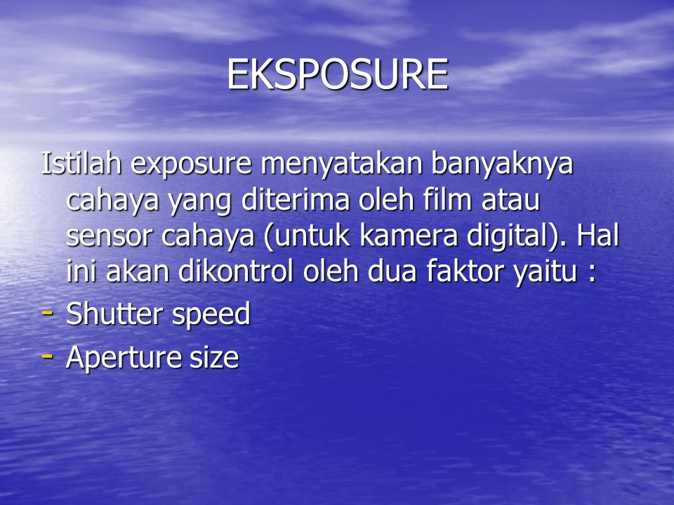 EKSPOSURE
