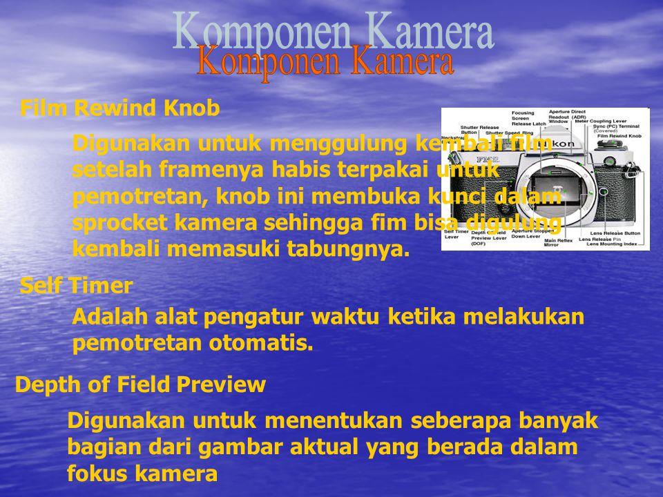 Komponen Kamera Film Rewind Knob