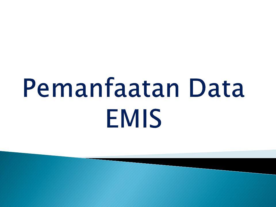 Pemanfaatan Data EMIS