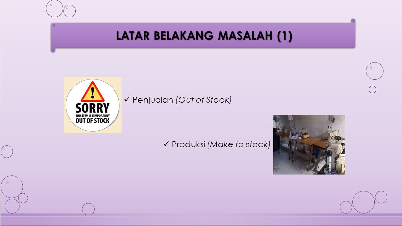 Penjualan (Out of Stock)