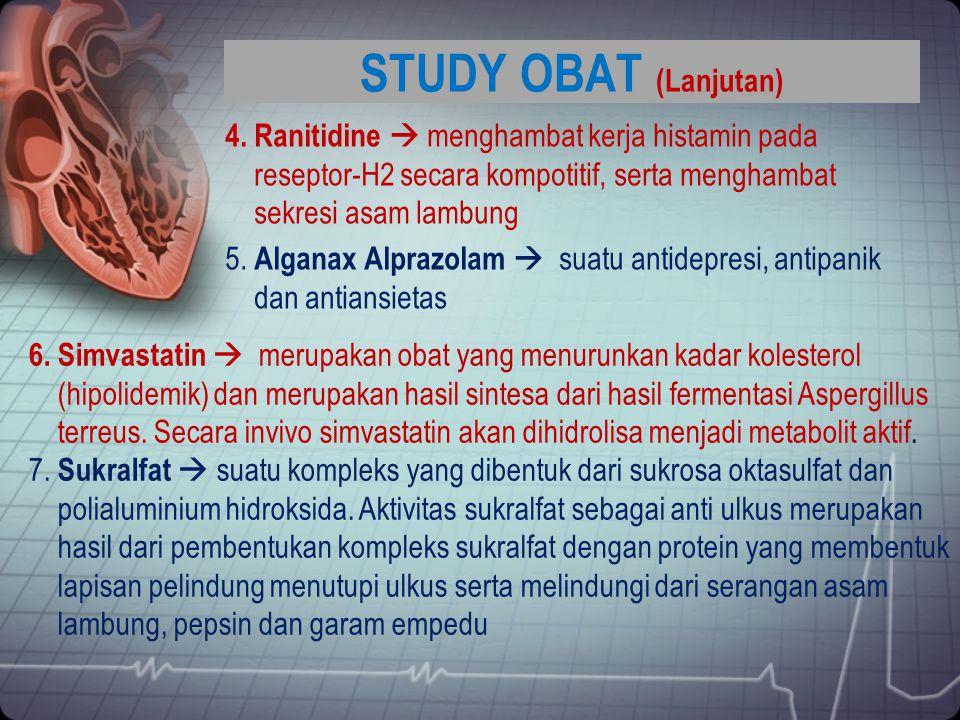 STUDY OBAT (Lanjutan)