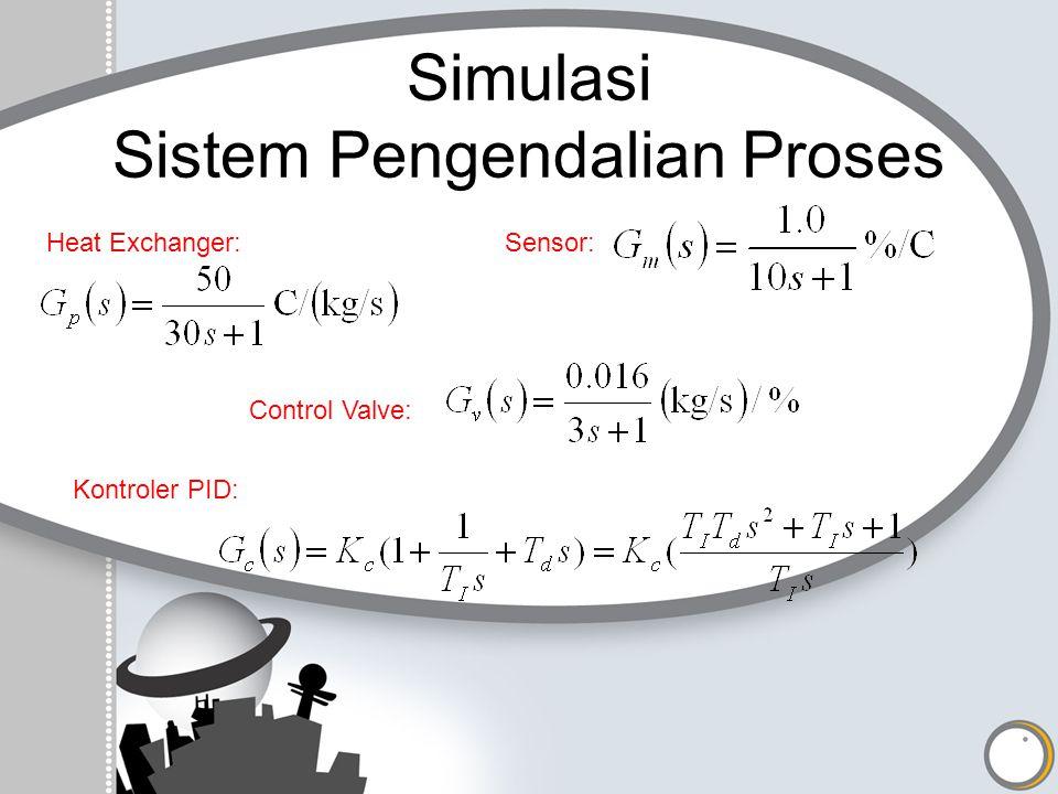 Simulasi Sistem Pengendalian Proses
