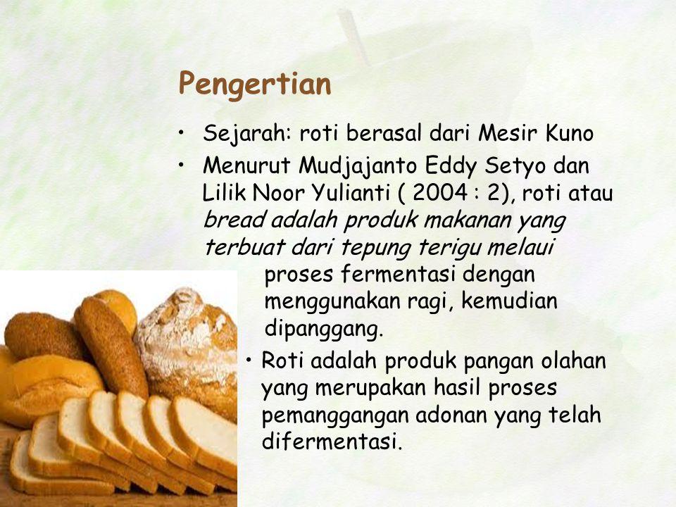 Pengertian Sejarah: roti berasal dari Mesir Kuno