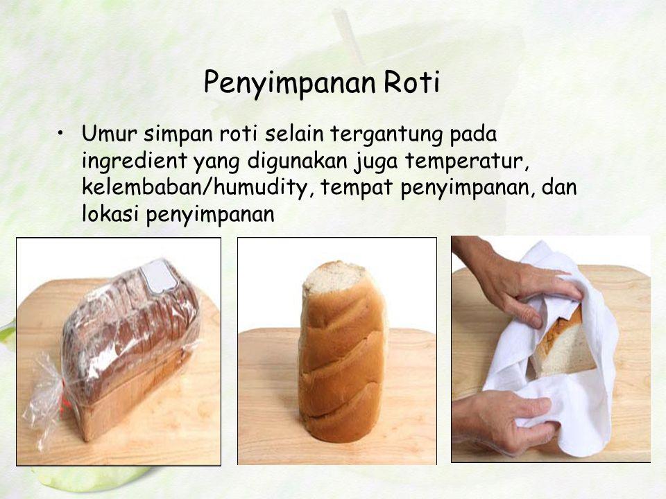 Penyimpanan Roti