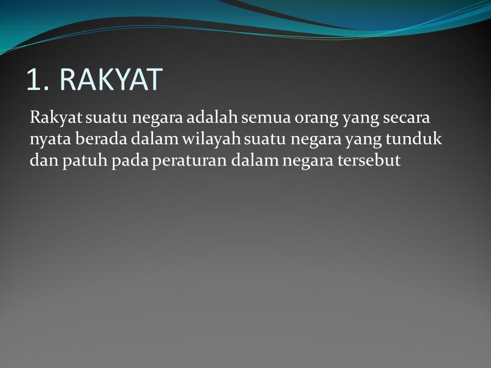 1. RAKYAT
