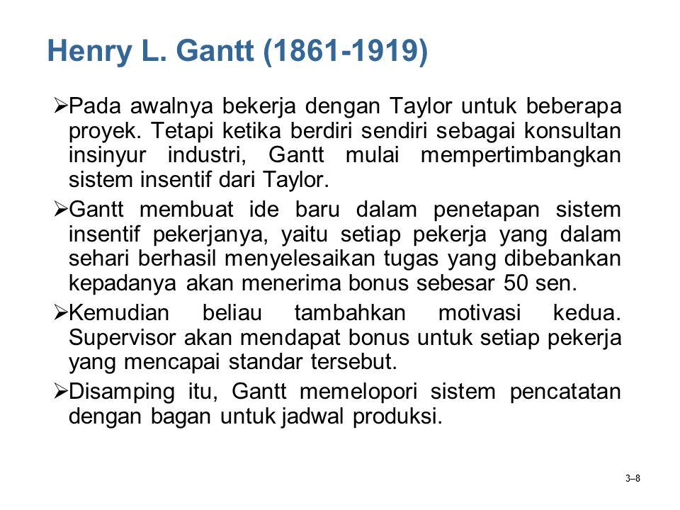 Henry L. Gantt (1861-1919)