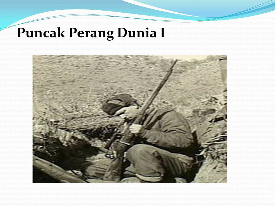 Puncak Perang Dunia I