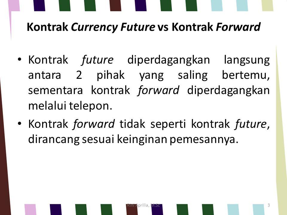 Kontrak Currency Future vs Kontrak Forward