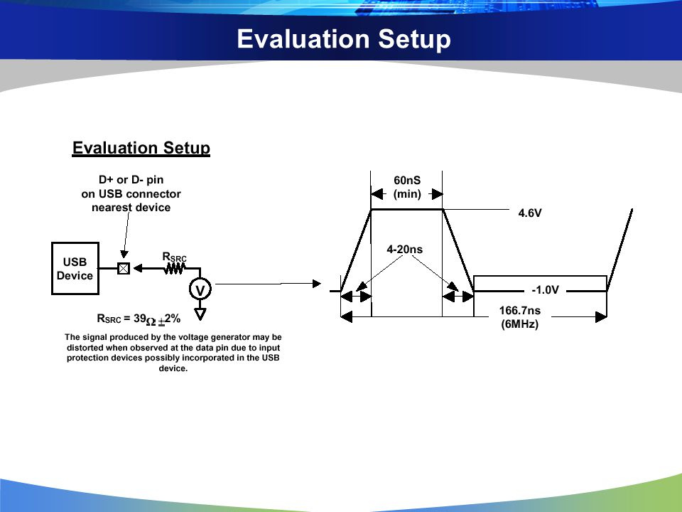 Evaluation Setup