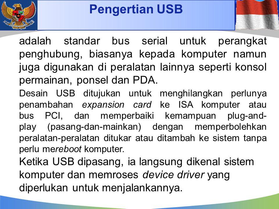 Pengertian USB 4/14/2017.