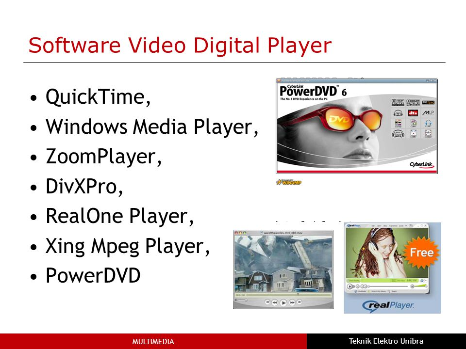Software Video Digital Player