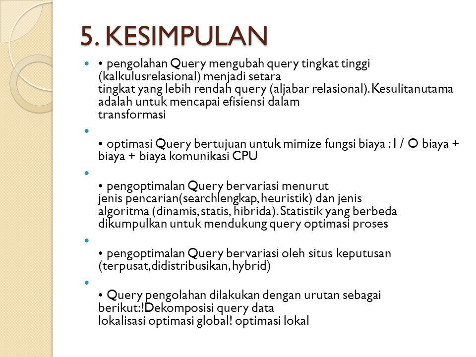5. KESIMPULAN