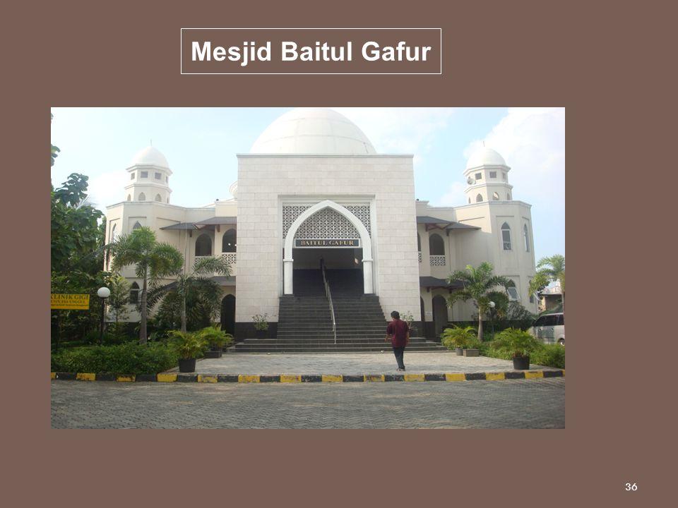 Mesjid Baitul Gafur 36
