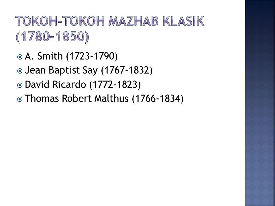 Tokoh-tokoh mazhab klasik (1780-1850)