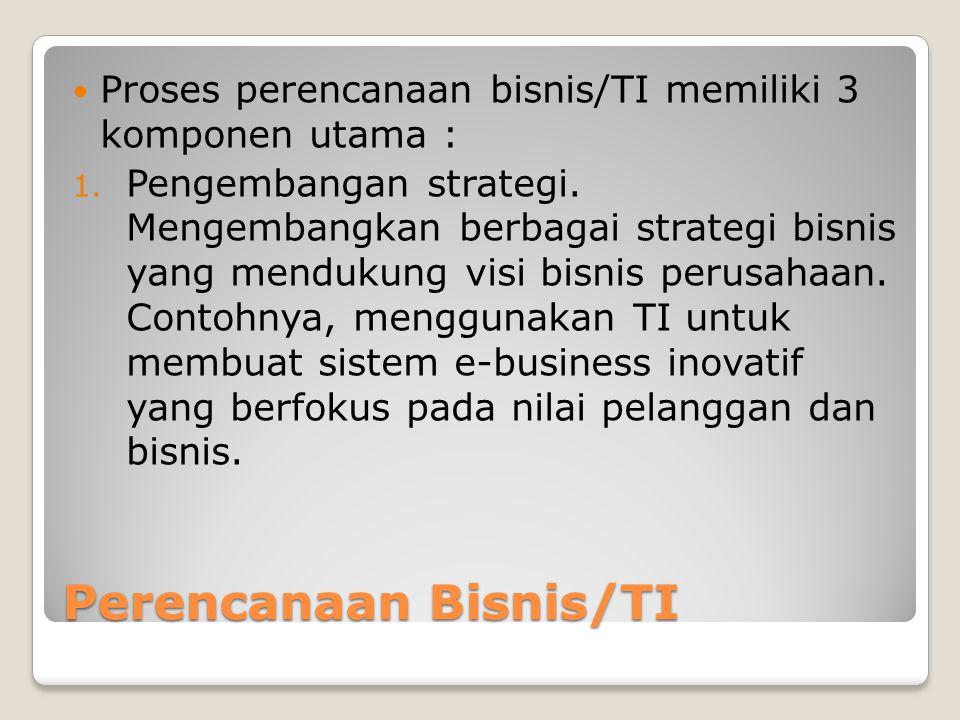 Perencanaan Bisnis/TI