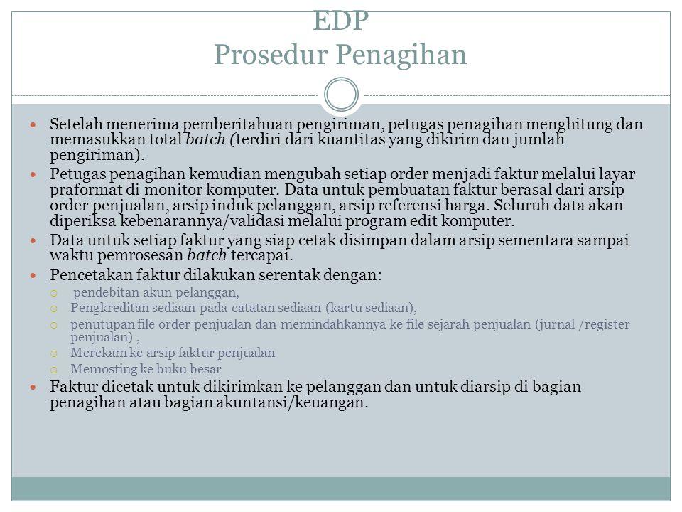 EDP Prosedur Penagihan