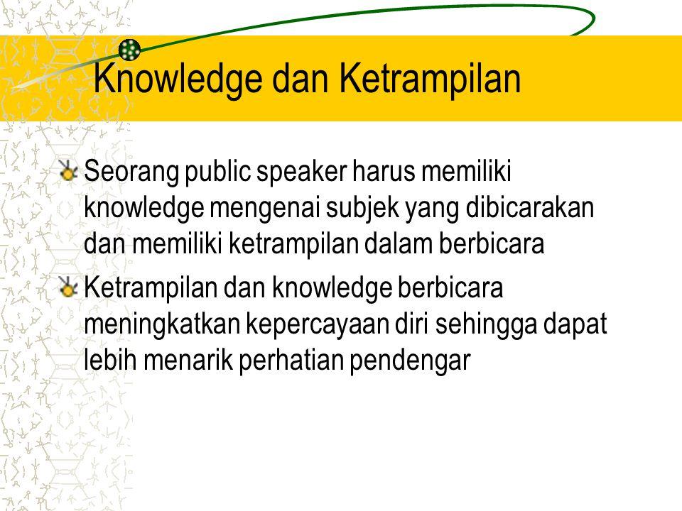 Knowledge dan Ketrampilan