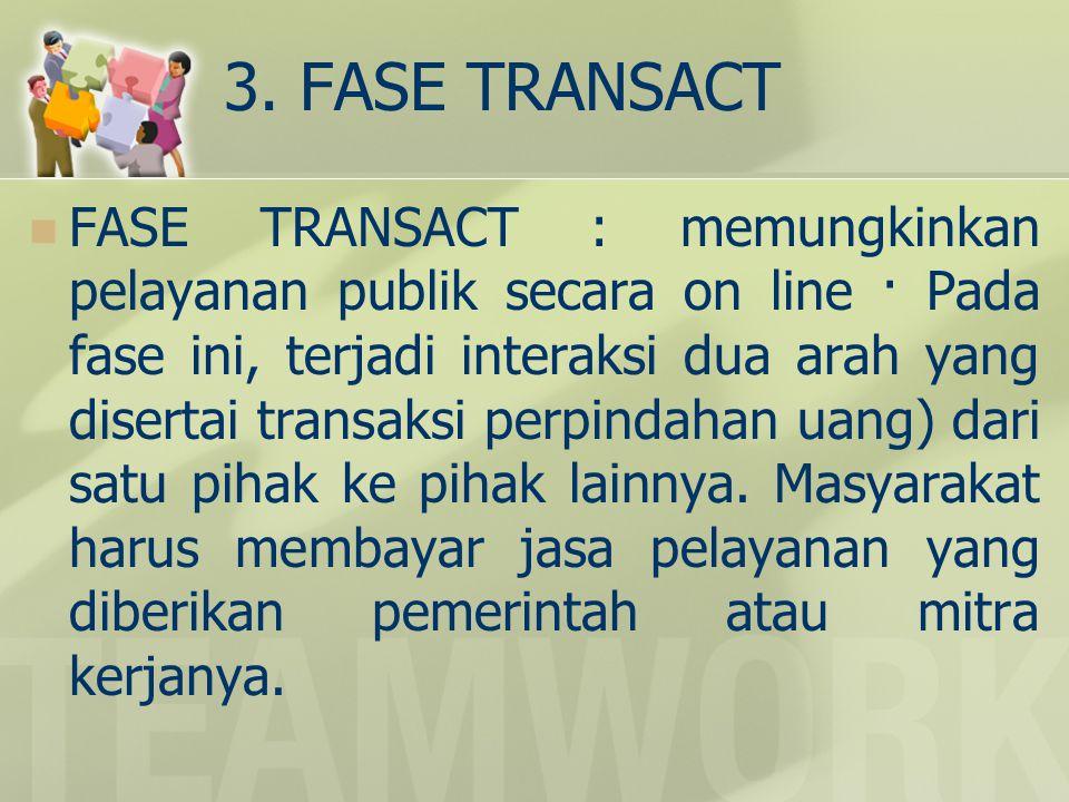 3. FASE TRANSACT
