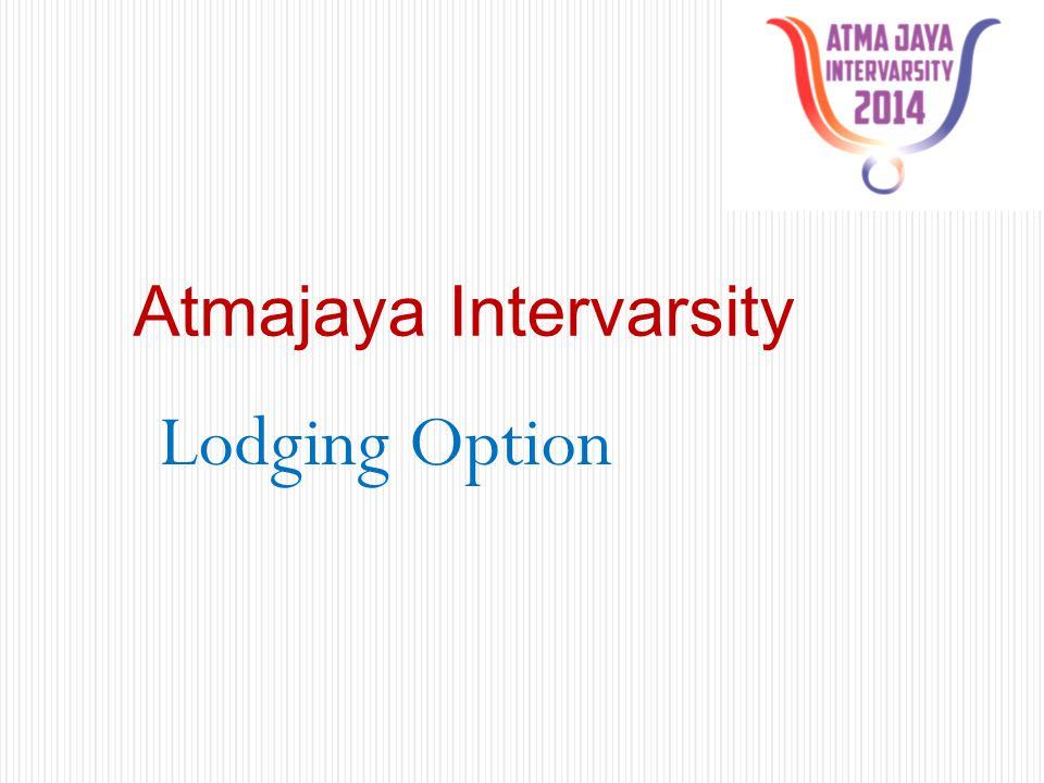 Atmajaya Intervarsity