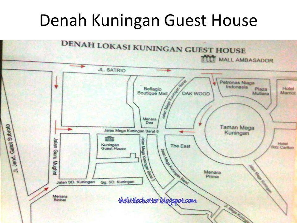 Denah Kuningan Guest House