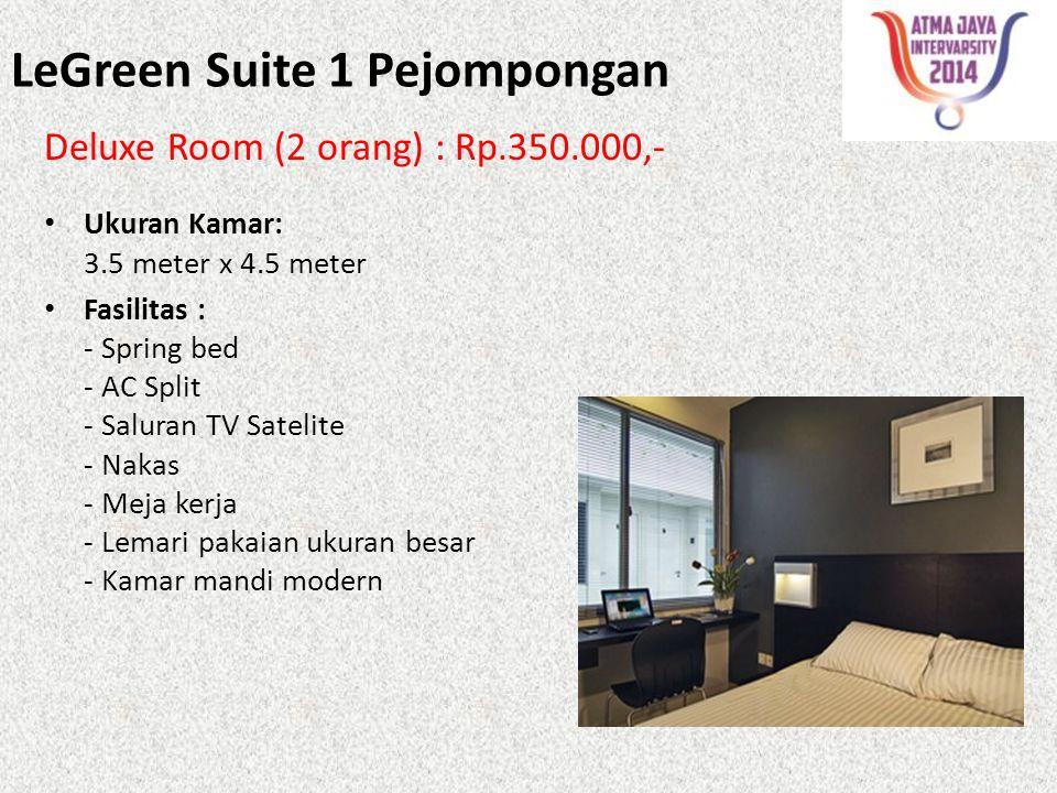 LeGreen Suite 1 Pejompongan