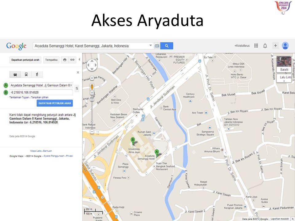 Akses Aryaduta