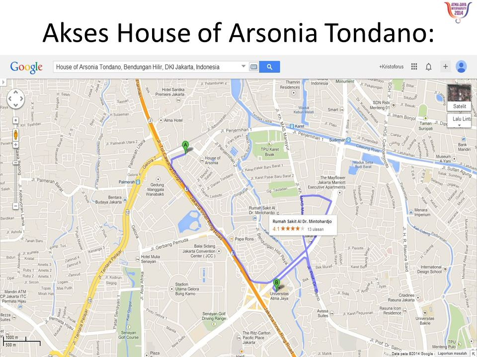 Akses House of Arsonia Tondano: