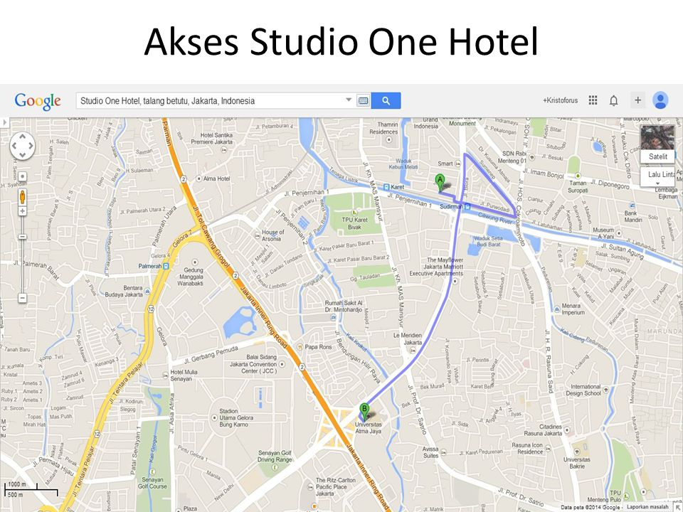 Akses Studio One Hotel