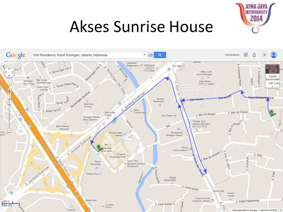 Akses Sunrise House