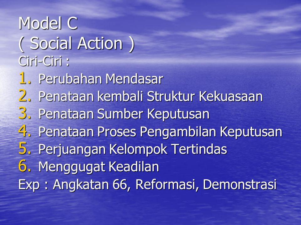 Model C ( Social Action )