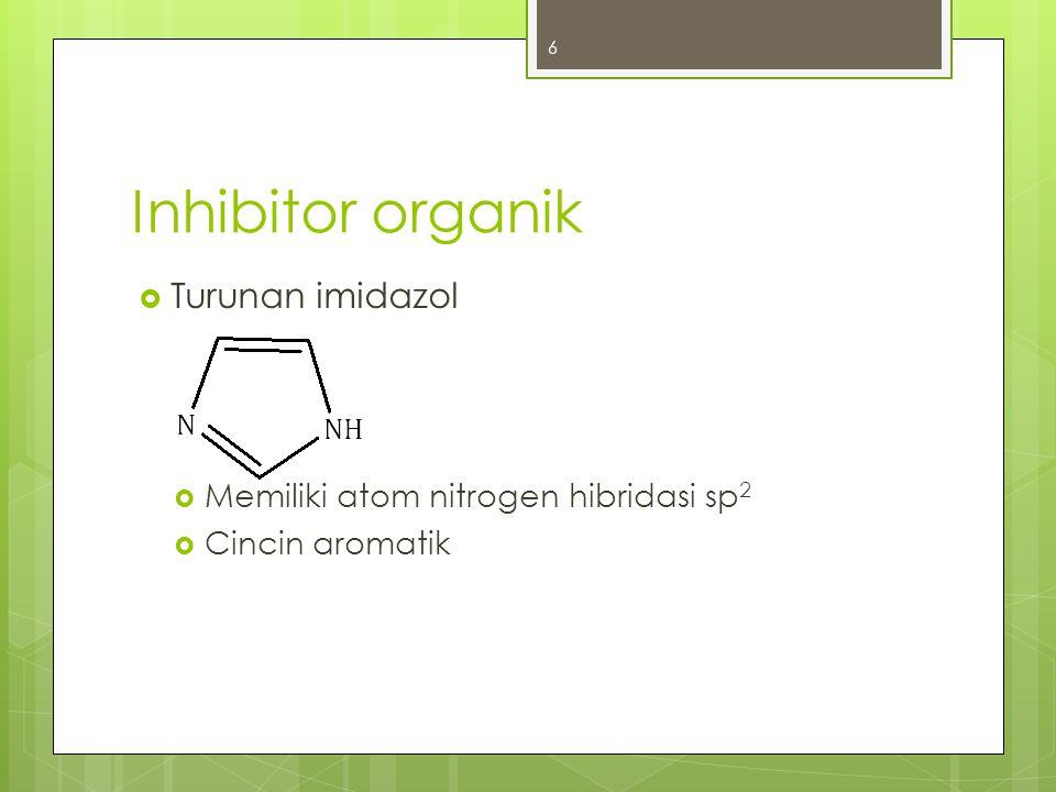 Inhibitor organik Turunan imidazol
