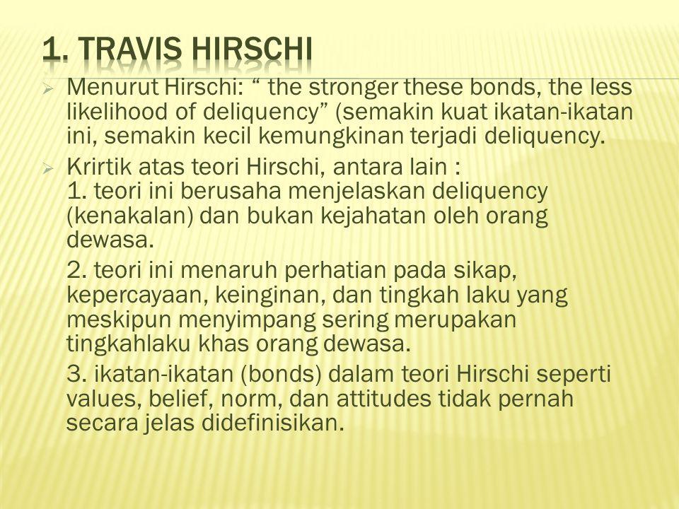 1. Travis Hirschi