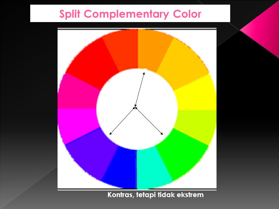 Split Complementary Color
