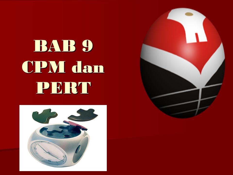 BAB 9 CPM dan PERT