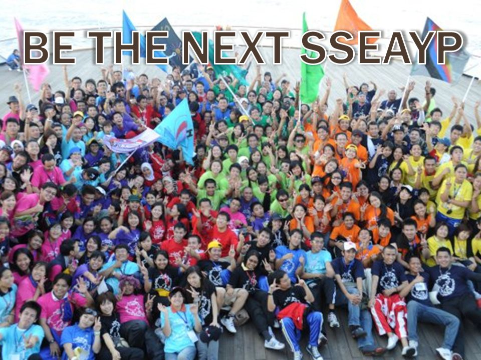 BE THE NEXT SSEAYP