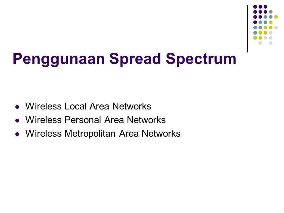 Penggunaan Spread Spectrum