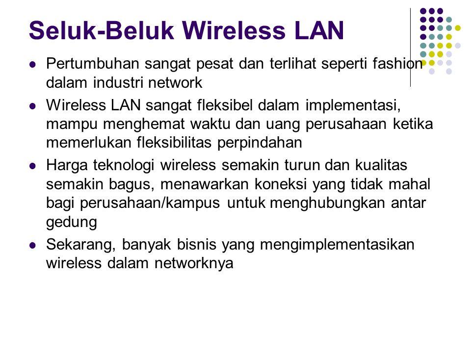 Seluk-Beluk Wireless LAN