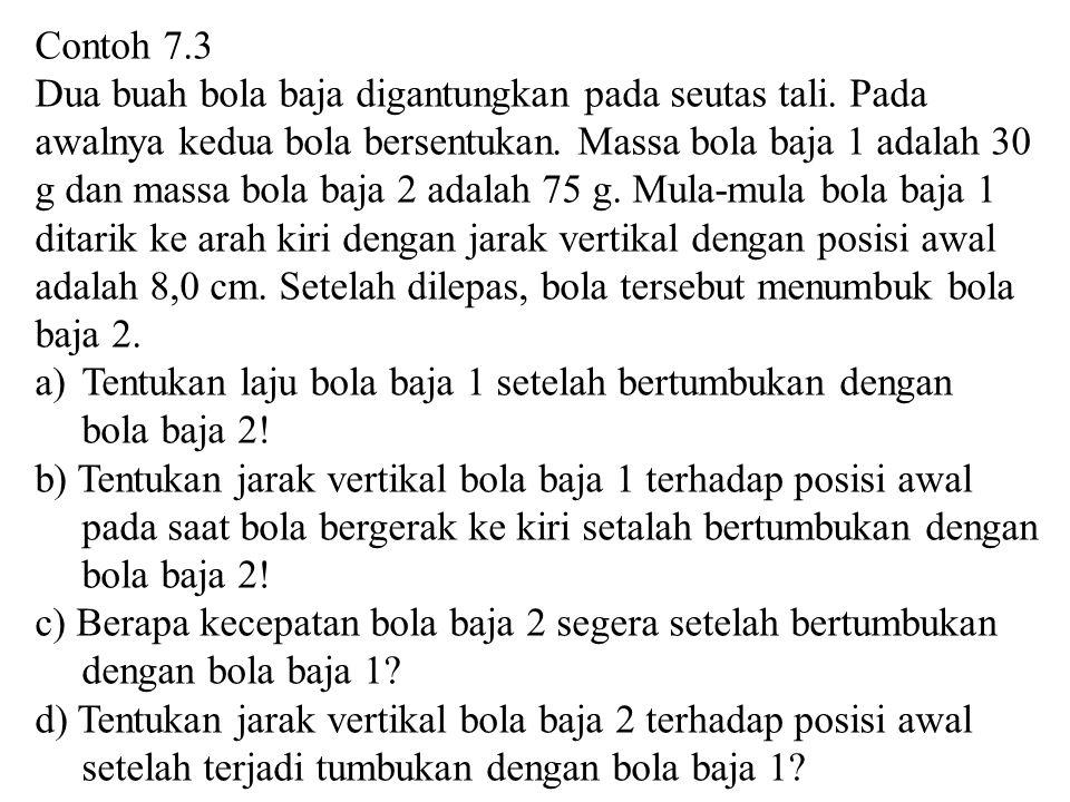 Contoh 7.3