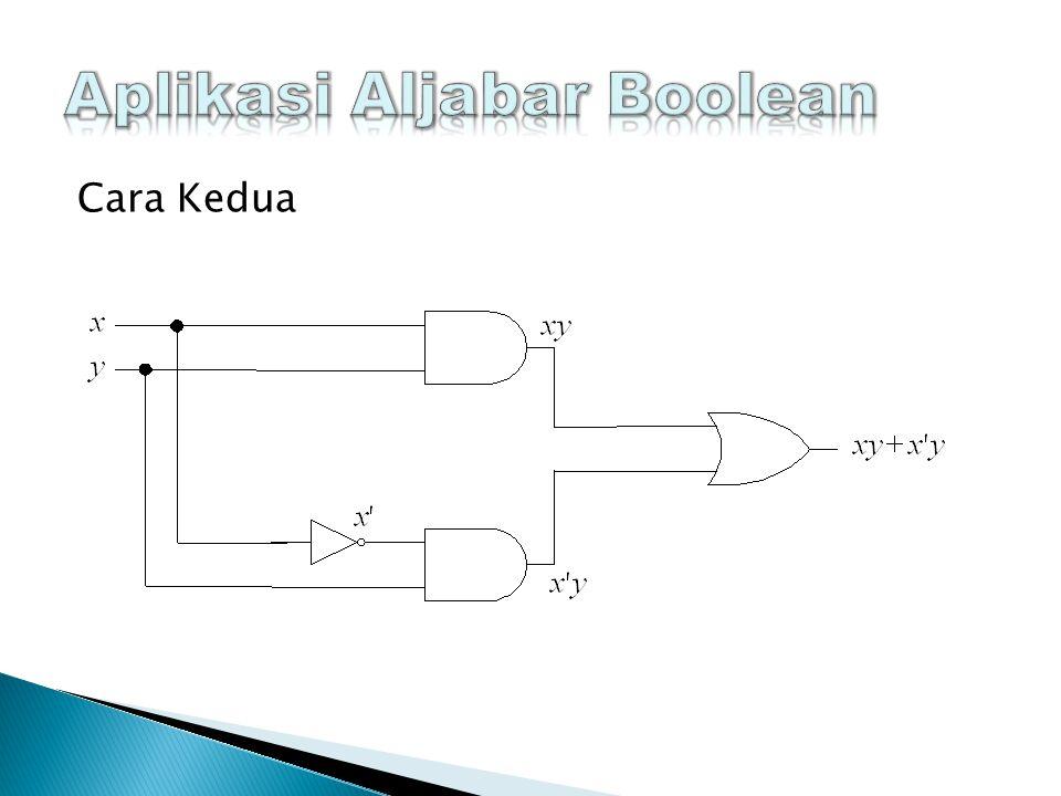 Aplikasi Aljabar Boolean