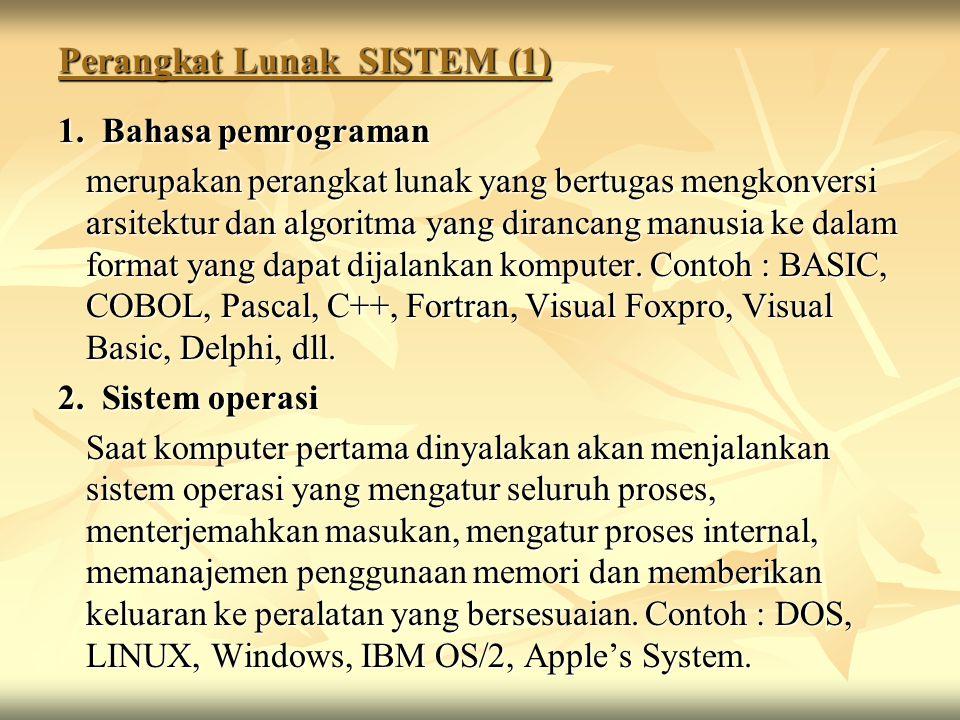 Perangkat Lunak SISTEM (1)
