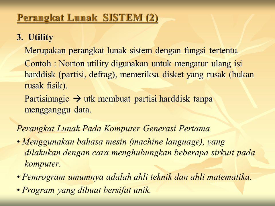 Perangkat Lunak SISTEM (2)