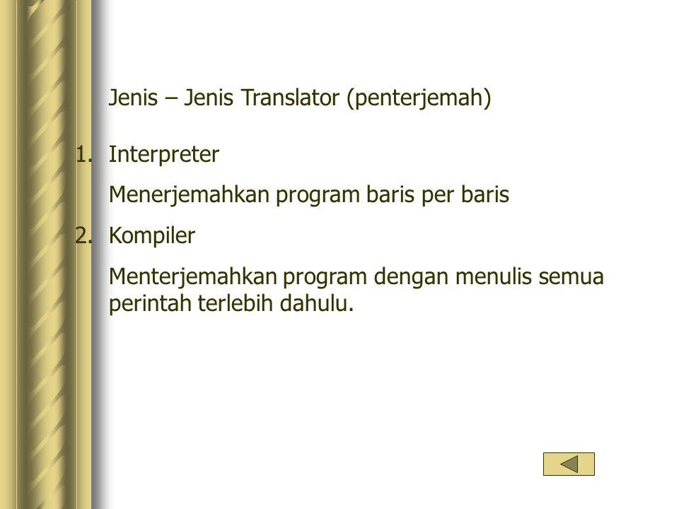 Jenis – Jenis Translator (penterjemah)