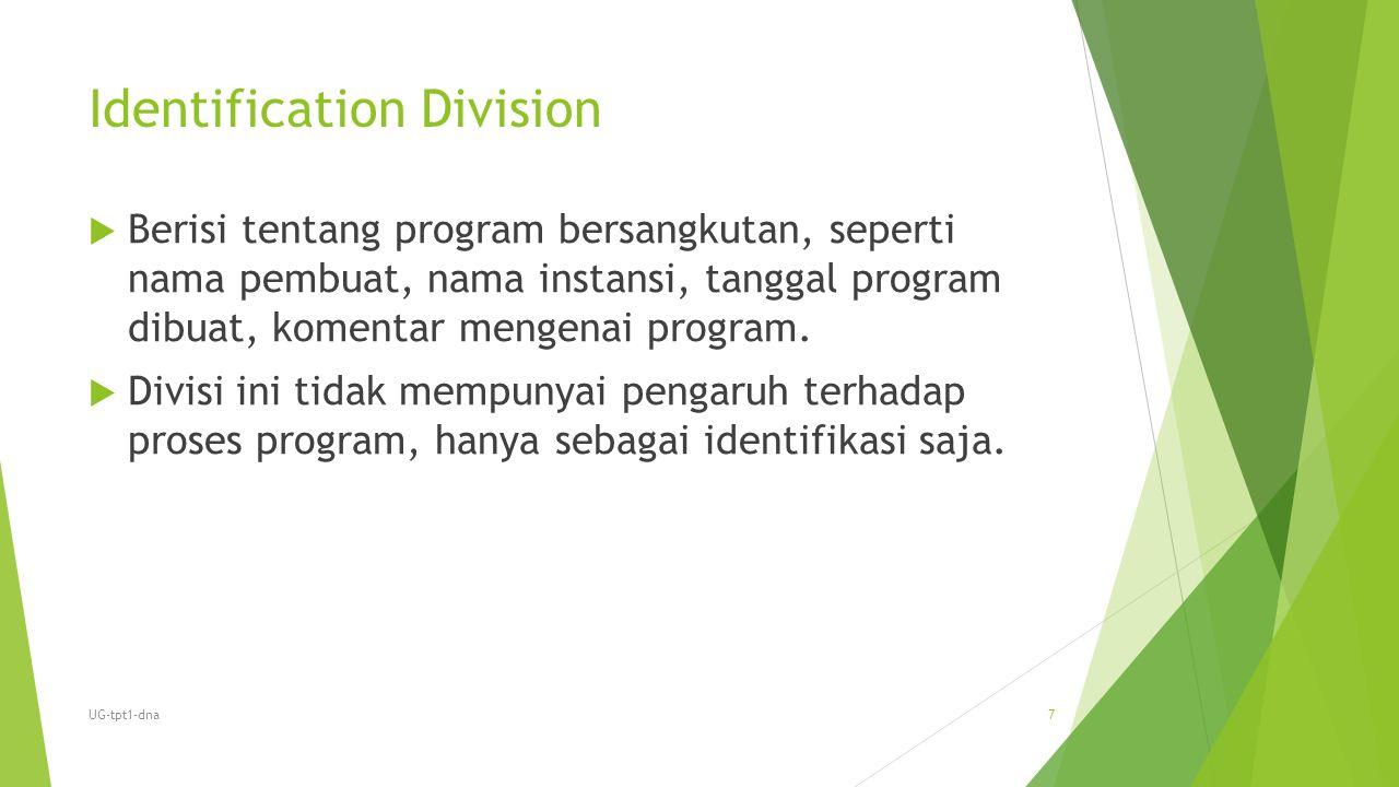 Identification Division