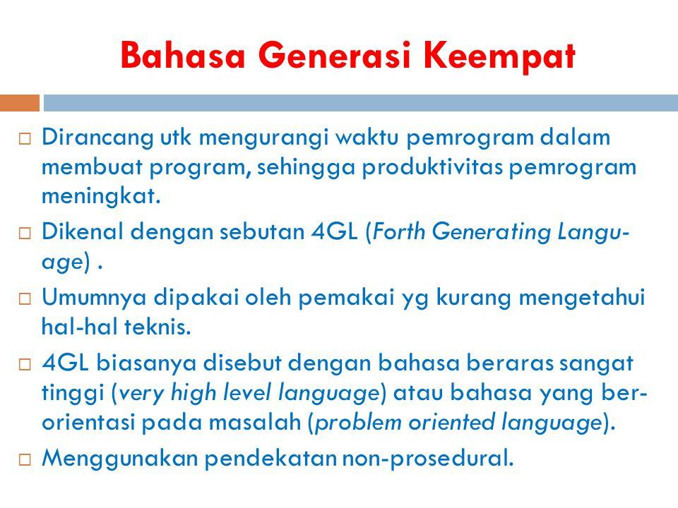 Bahasa Generasi Keempat
