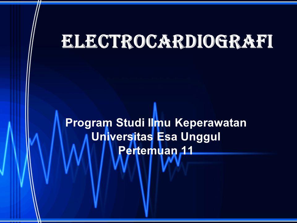 Program Studi Ilmu Keperawatan Universitas Esa Unggul Pertemuan 11