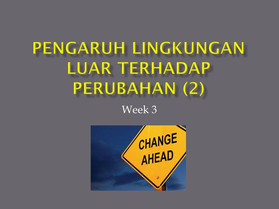 Pengaruh Lingkungan luar terhadap Perubahan (2)