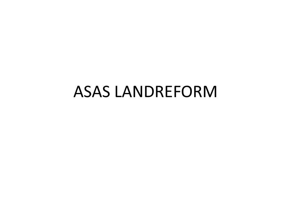 ASAS LANDREFORM