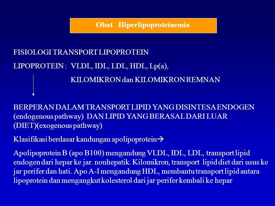 Obat Hiperlipoproteinemia